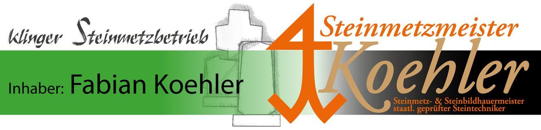 Steinmetzbetrieb Klinger · Inhaber Fabian Koehler